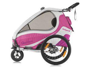 Kidgoo2 Kindersportwagen Seitenansicht pink-violett