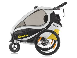 Kidgoo2 Kindersportwagen Seitenansicht gelb-schwarz
