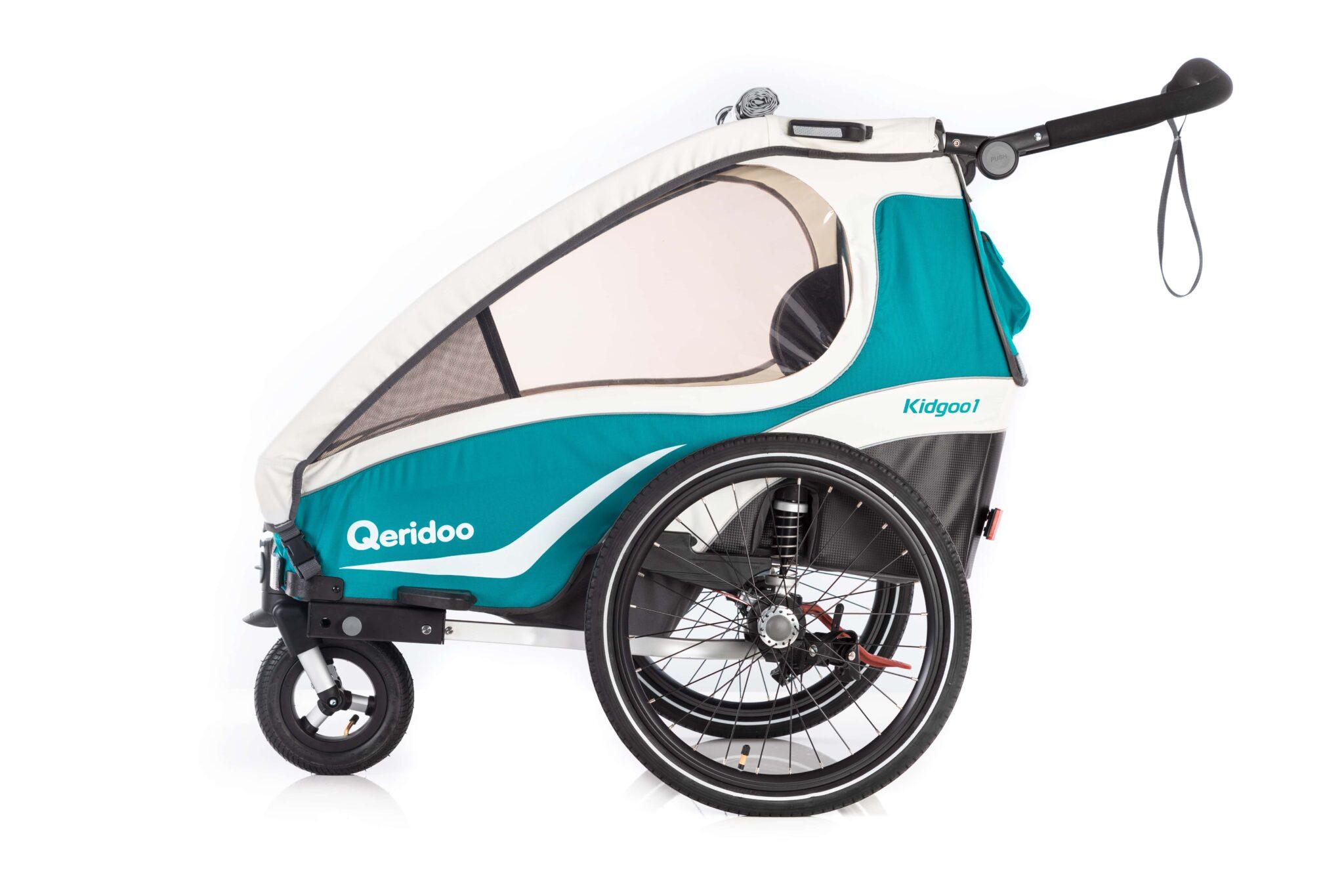 Qeridoo Der Kindersportwagen Fahrradanhänger Sportgerät Und
